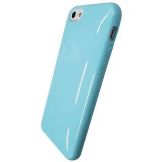 iPhone SE/5s/5対応 ラウンドシェルジャケット スカイブルー
