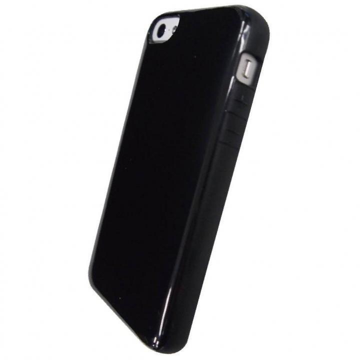 iPhone SE/5s/5 ケース iPhone SE/5s/5対応 ラウンドシェルジャケット ブラック_0
