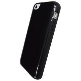 iPhone SE/5s/5対応 ラウンドシェルジャケット ブラック