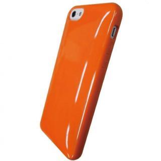 iPhone SE/5s/5対応 ラウンドシェルジャケット ビビッドオレンジ