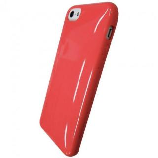 iPhone SE/5s/5対応 ラウンドシェルジャケット コーラルピンク