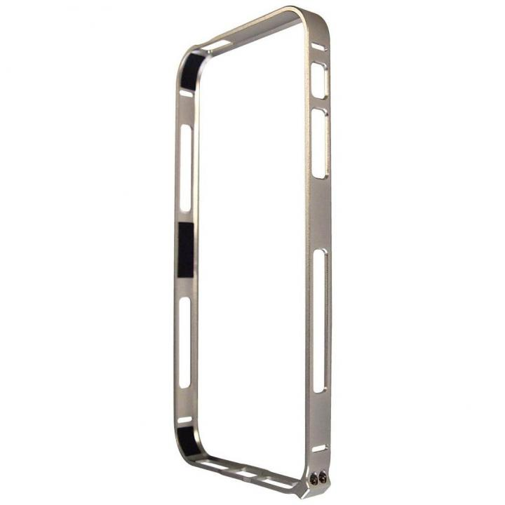 iPhone SE/5s/5 ケース iPhone SE/5s/5対応 エアーフレーム シルバー_0