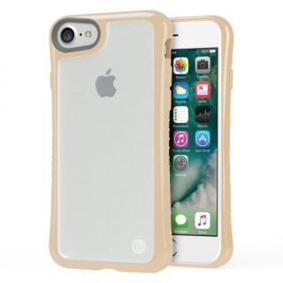 iPhone7 ケース Hybrid Shell 衝撃吸収クリアケース ベージュ iPhone 7