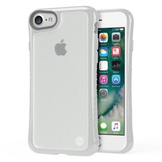 iPhone7 ケース Hybrid Shell 衝撃吸収クリアケース グレー iPhone 7