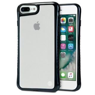 Hybrid Shell 衝撃吸収クリアケース ブラック iPhone 7 Plus