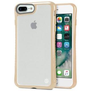 iPhone7 Plus ケース Hybrid Shell 衝撃吸収クリアケース ベージュ iPhone 7 Plus