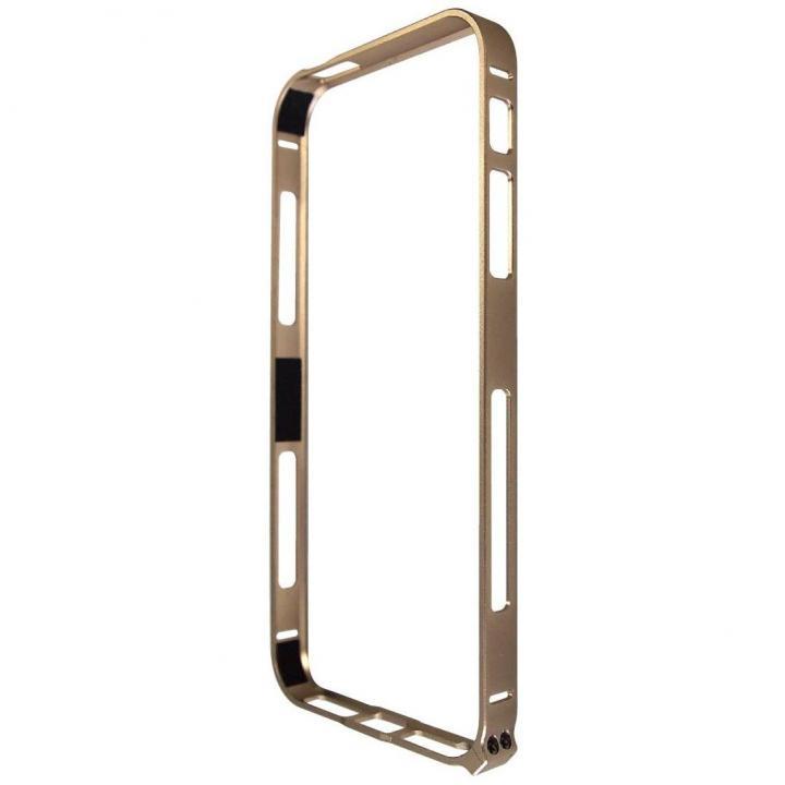 iPhone SE/5s/5 ケース iPhone SE/5s/5対応 エアーフレーム ゴールド_0