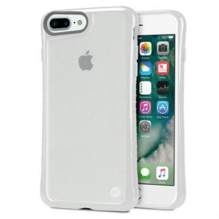 iPhone7 Plus ケース Hybrid Shell 衝撃吸収クリアケース グレイ iPhone 7 Plus