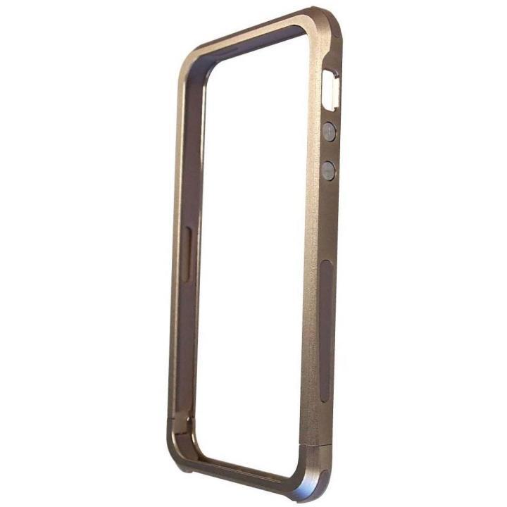 iPhone SE/5s/5 ケース iPhone SE/5s/5対応 アームフレーム ゴールド_0