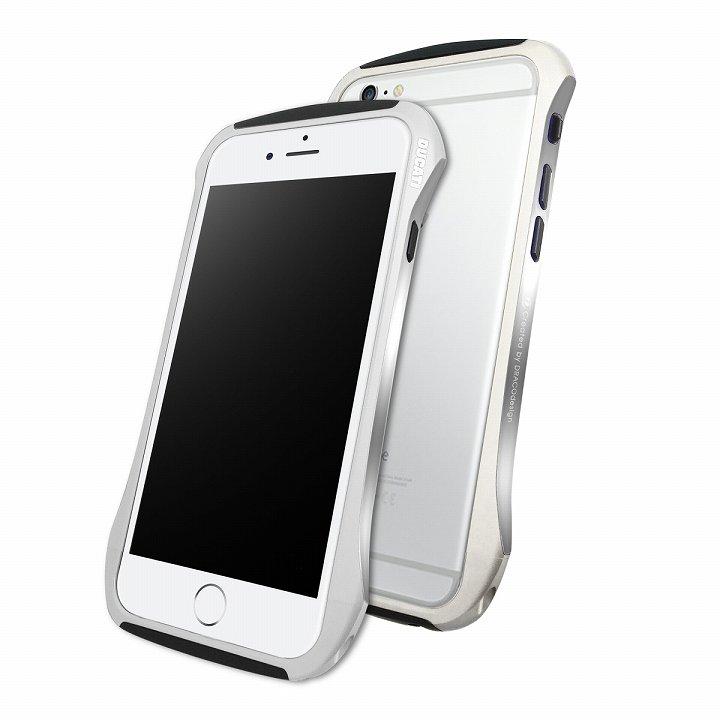 【iPhone6ケース】DRACOdesign アルミニウムバンパー DUCATI 6 シルバー iPhone 6_0