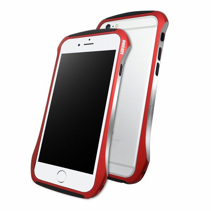 【iPhone6ケース】DRACOdesign アルミニウムバンパー DUCATI 6 レッド iPhone 6_0