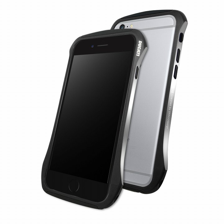 iPhone6 ケース DRACOdesign アルミニウムバンパー DUCATI 6 ブラック iPhone 6_0