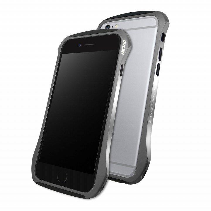 【iPhone6ケース】DRACOdesign アルミニウムバンパー DUCATI 6 グレー iPhone 6_0