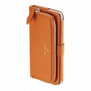 本レザーコインケース付き手帳型ケース BZGLAM キャメル iPhone 6