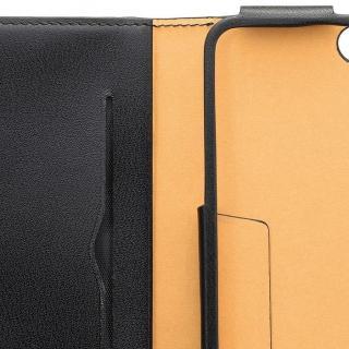 【iPhone6ケース】本レザーコインケース付き手帳型ケース BZGLAM ブラック iPhone 6_5