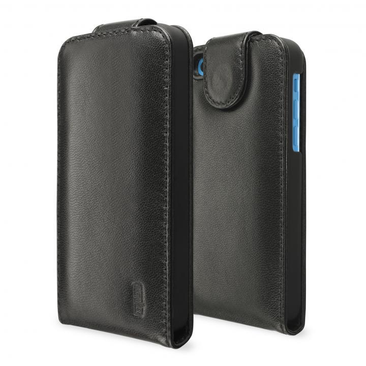 SeeJacket Leather Flip iPhone5c,  黒_0