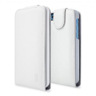 その他のiPhone/iPod ケース SeeJacket Leather Flip iPhone 5c, 白