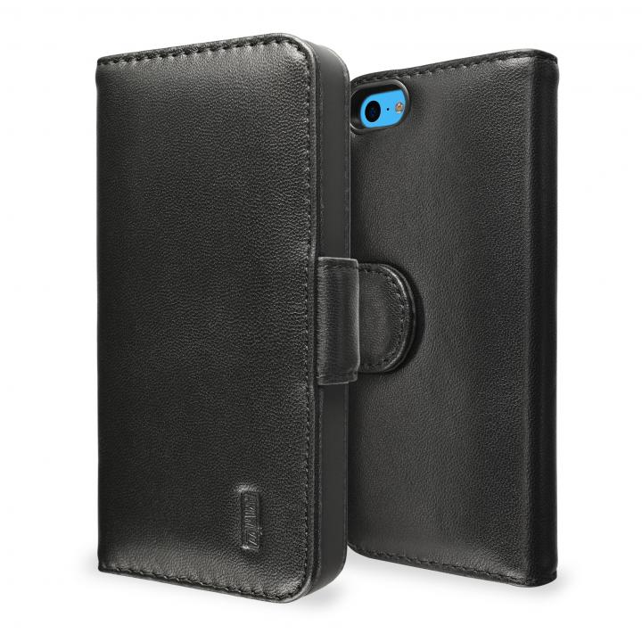SeeJacket Leather  iPhone 5c 手帳型ケース 黒_0