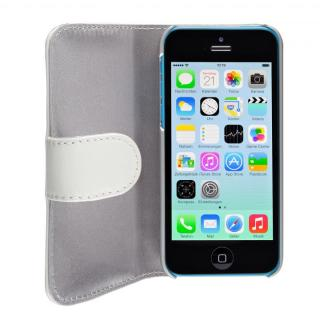 【その他のiPhone/iPodケース】SeeJacket Leather  iPhone 5c 手帳型ケース 白