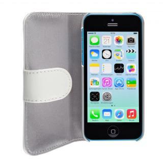 その他のiPhone/iPod ケース SeeJacket Leather  iPhone 5c 手帳型ケース 白