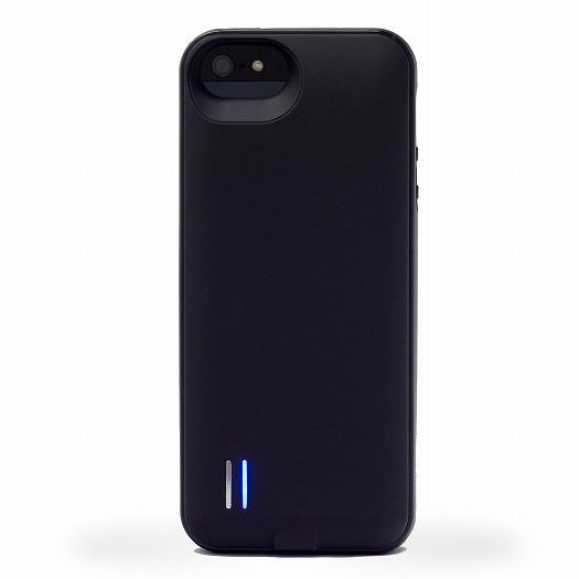 uncommon バッテリーケース Black Matte Loop  iPhone SE/5s/5