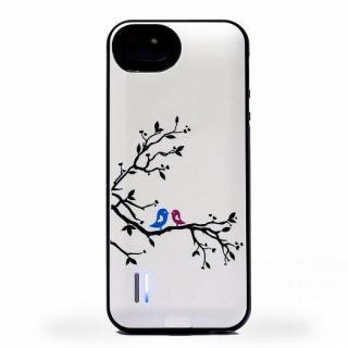 iPhone SE/5s/5 ケース uncommon バッテリーケース UNC BIRDS  iPhone SE/5s/5