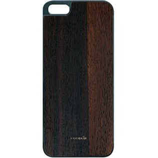 iPhone SE/5s/5 ケース innerexile専用バックプレート Wood Back Cover  Odyssey 5 (DarkBrown)_0