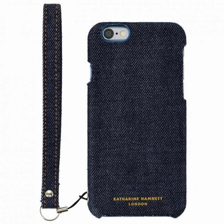 【iPhone6s/6ケース】KATHARINE HAMNETT ファブリックケース デニム iPhone 6s/6_0