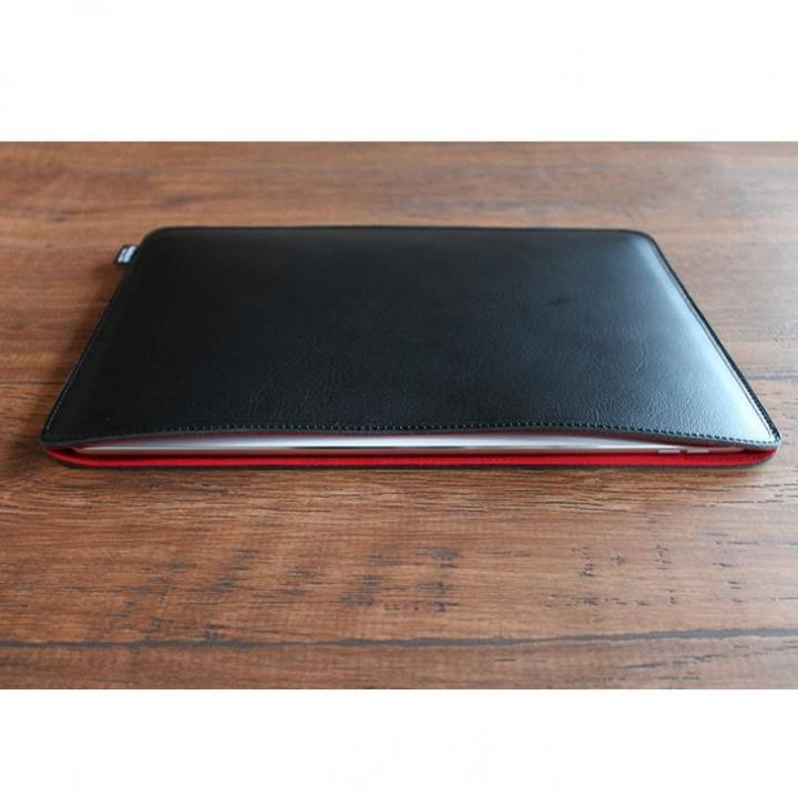 職人が作るオイルドレザースリーブ  ブラック 12.9インチiPad Pro_0