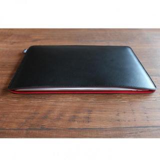 職人が作るオイルドレザースリーブ  ブラック 12.9インチiPad Pro