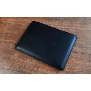 職人が作るオイルドレザースリーブ  ブラック 12.9インチiPad Pro_3