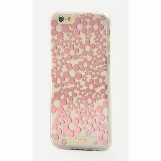 【iPhone6ケース】Sonix クリアデザインハードケース HELLO DAISY ROSE GOLD iPhone 6_1