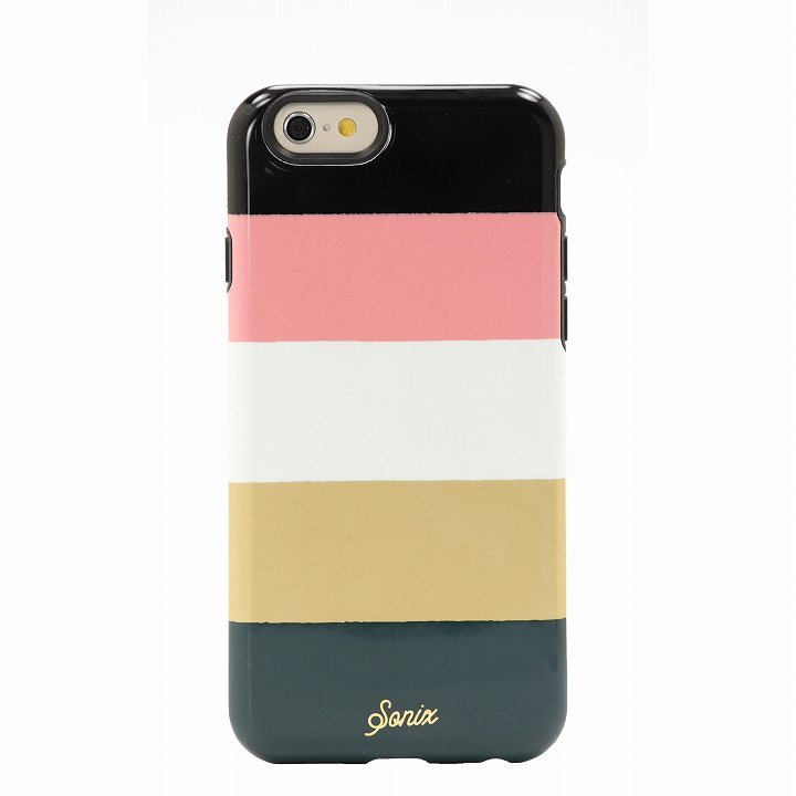 Sonix デザインハードケース INLAY AUTUMN STRIPE iPhone 6