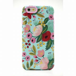 【iPhone6ケース】Sonix デザインハードケース INALY RPC GARDEN BLOOM BLUE iPhone 6
