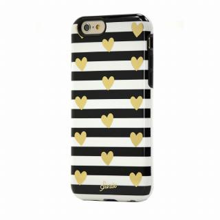 【iPhone6ケース】Sonix デザインハードケース INLAY HEART STRIPE GOLD iPhone 6_1