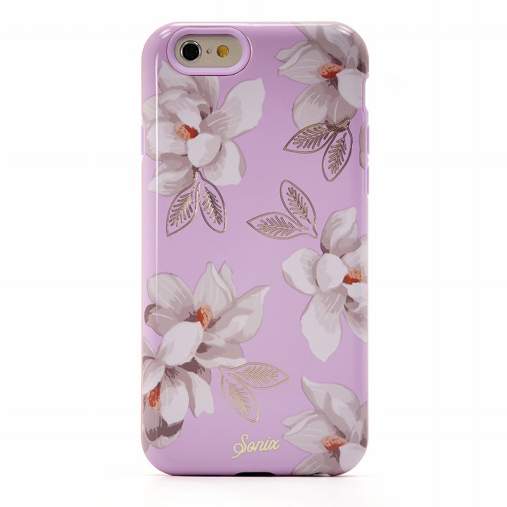 iPhone6 ケース Sonix デザインハードケース INALY LILY PINK iPhone 6_0