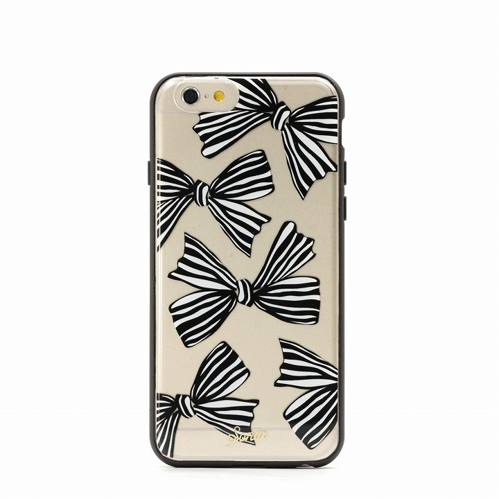 【iPhone6ケース】Sonix クリアデザインハードケース BOWS (RIBBON) iPhone 6_0