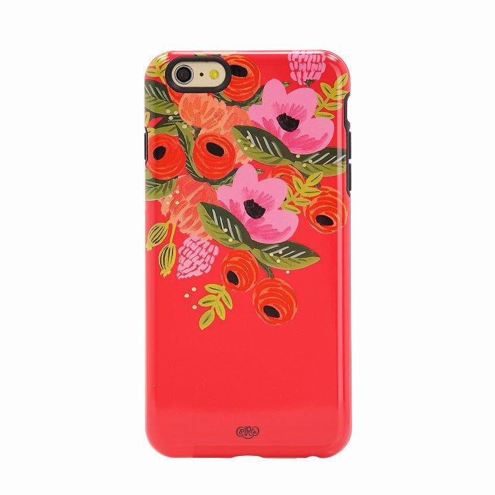 【iPhone6 Plusケース】Sonix デザインハードケース INLAY RPC AUTUMN BOUQUET CRIMSON iPhone 6 Plus_0