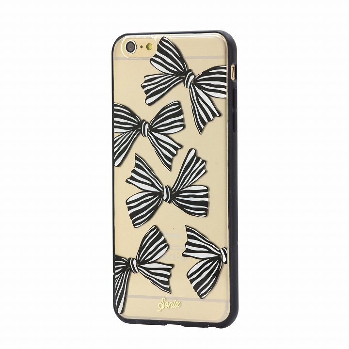 【iPhone6 Plusケース】Sonix クリアデザインハードケース CLEAR BOWS (RIBBON) iPhone 6 Plus_0