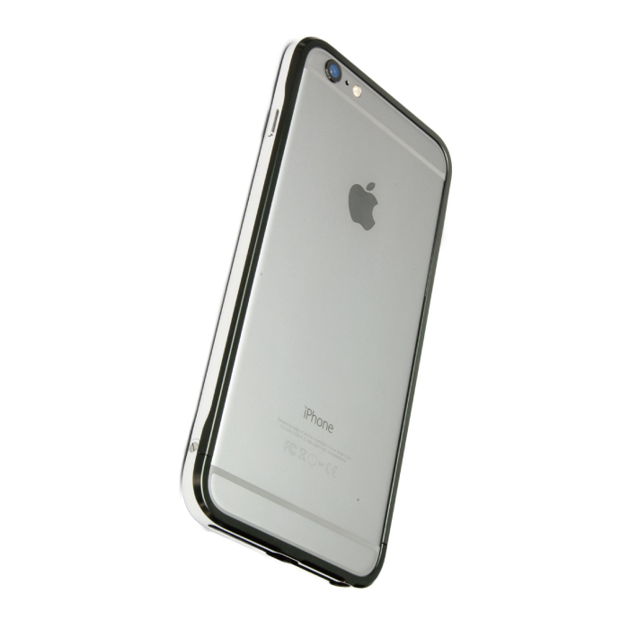 iPhone6 Plus ケース GRAVITY SWORD α アルミバンパー グレイ iPhone 6 Plus_0