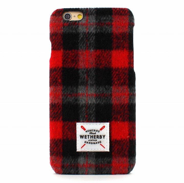 iPhone6s Plus/6 Plus ケース フランネルケース Wetherby レッド iPhone 6s Plus/6 Plus_0