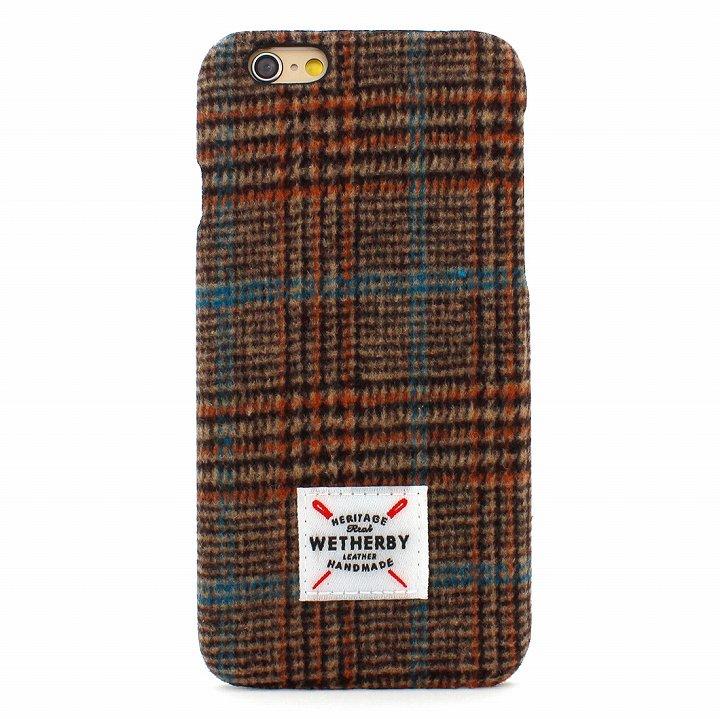 0フランネルケース Wetherby ブラウン iPhone 6 Plus