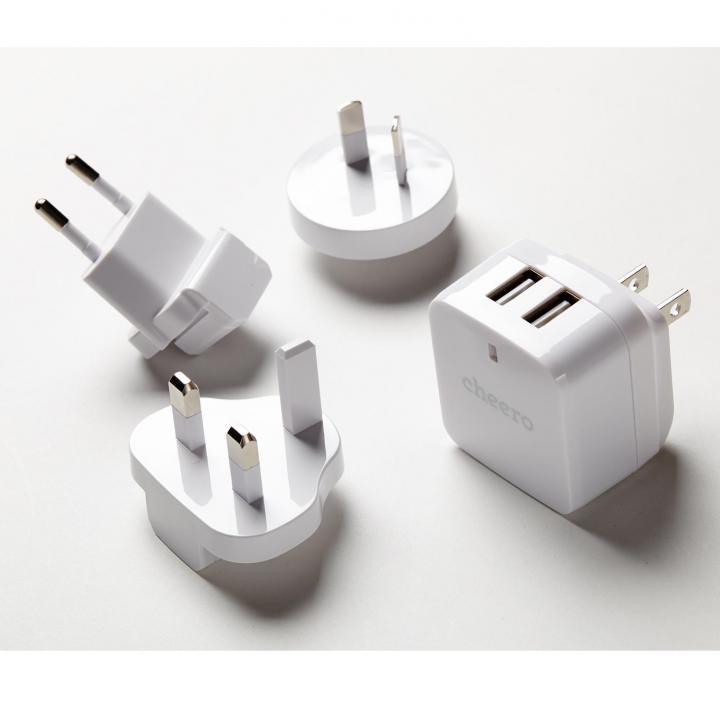 cheero 2ポート USB-AC アダプタ Miracle Charger_0