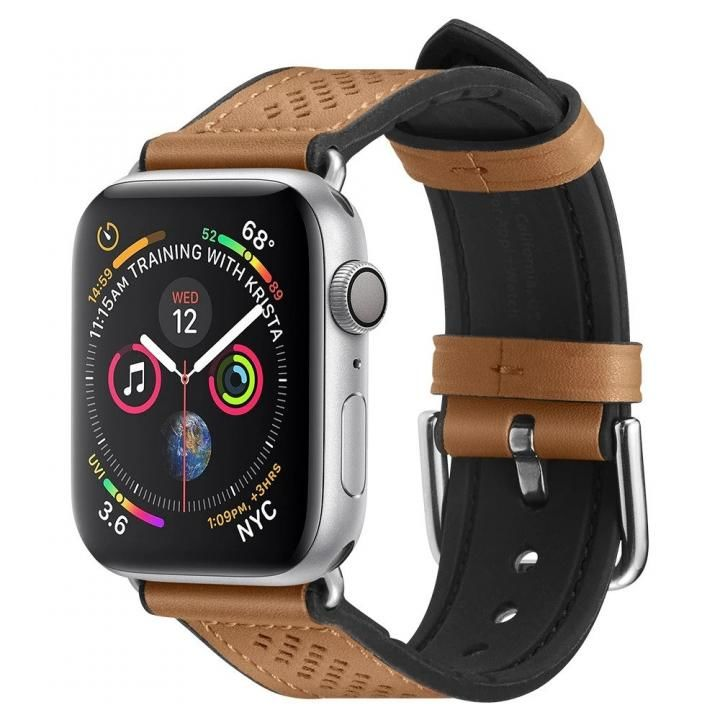 Apple Watch Series SE/6/5/4 (40mm)/3/2/1 (38mm) Watch Band Retro Fit Brown_0