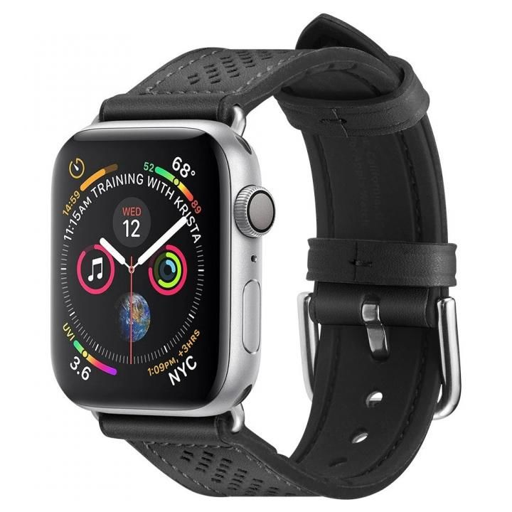 Apple Watch Series SE/6/5/4 (44mm)/3/2/1 (42mm) Watch Band Retro Fit Black_0