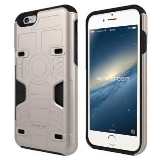 カード3枚収納機能付きケース PhoneFoam FURY シャンパンゴールド iPhone 6s/6