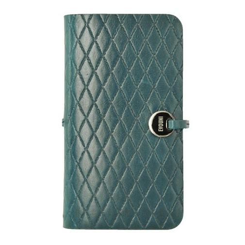 Leather Arc Cover iPhone SE/5s/5  手帳型ケースL58 ブルー