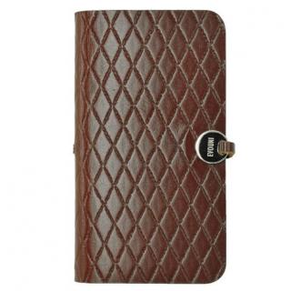 Leather Arc Cover iPhone SE/5s/5 手帳型ケース L58 レッド