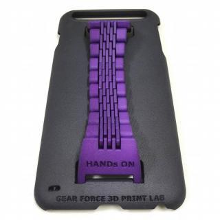 ベルト付きケース 「HANDs ON」 Design パープル iPhone 6 Plus