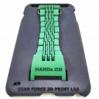 ベルト付きケース 「HANDs ON」 Design グリーン iPhone 6 Plus